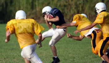 American Football Team Event in Erfurt