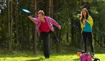 Cross-Frisbee Team Event in Erfurt