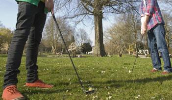 Cross Golf in Erfurt