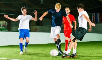 Fußball Team Event in Erfurt
