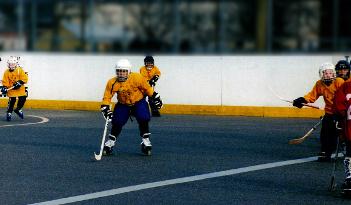 Inlinehockey Team Event in Erfurt